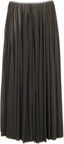 Celine Long Pleated Skirt