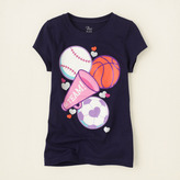 Children's Place Go team graphic tee