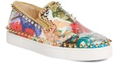 Christian Louboutin Women's Pik Boat Slip-On Sneaker