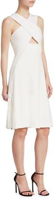 Jonathan Simkhai Lace-Up Cutout Dress