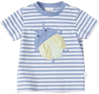 Il Gufo Striped Cotton Jersey T-shirt