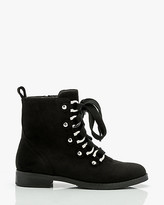 Le Château Round Toe Lace-Up Ankle Boot