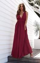 Beginning Boutique Aurora Formal Dress Raspberry