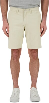 Devil-Dog Dungarees Flat Front Twill Shorts