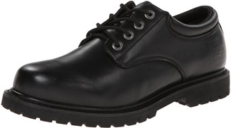 Skechers Men's Cottonwood Elks Work Shoe Black 8.5 3E US