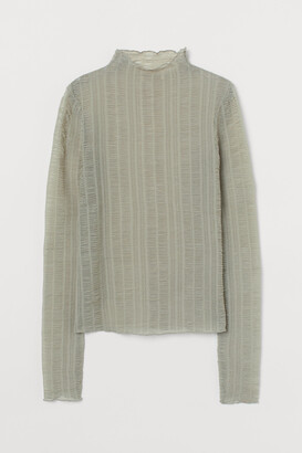 H&M Gathered Top