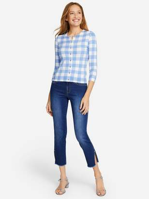 J.Mclaughlin Tami Cardigan in Oversized Gingham