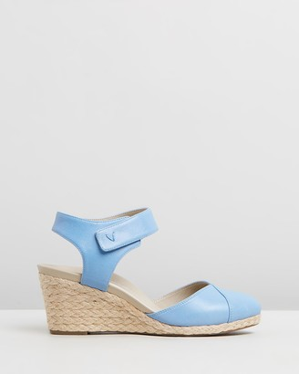 Vionic Women's Blue Heels - Loika Wedges - Size One Size, 6 at The Iconic