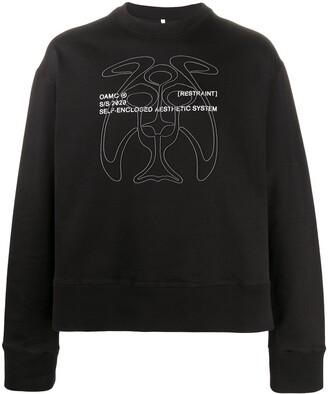 Oamc Self-Enclosed Aesthetic System sweatshirt
