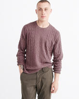 Abercrombie & Fitch Cable Crewneck Sweater