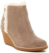 Cole Haan Michelle Faux Fur Lined Wedge Bootie