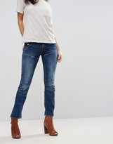 G Star G-Star 5620 3d Hadron Mid Rise Cropped Kick Flare Jeans