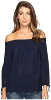 Lucky Brand Eyelet Off the Shoulder