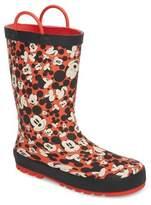 Western Chief Toddler Happy Mickey Rain Boot