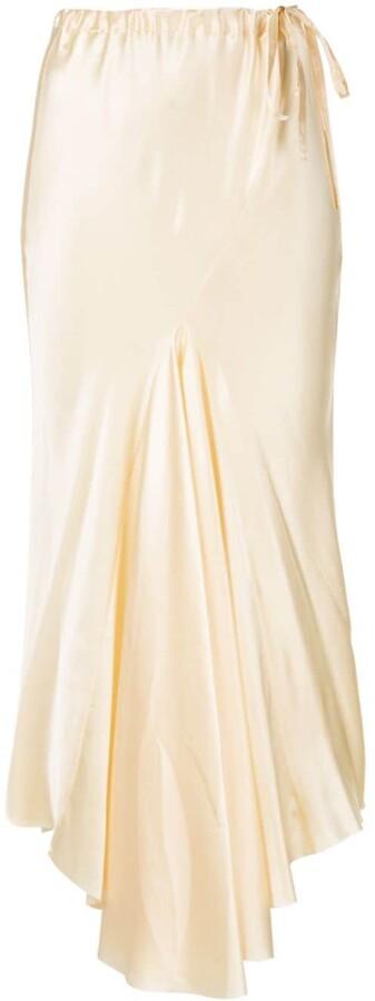 Ann Demeulemeester high-waisted midi skirt