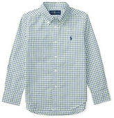 Ralph Lauren Childrenswear Cotton Plaid Shirt