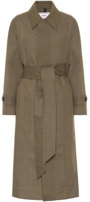 Ami Cotton-blend coat
