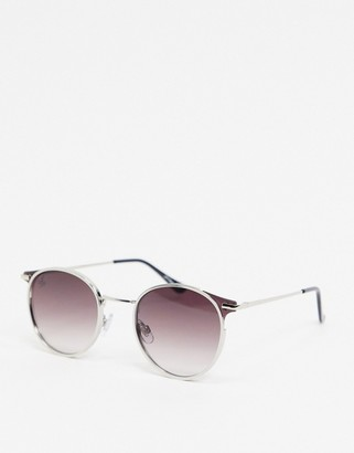 Jeepers Peepers round sunglasses in purple