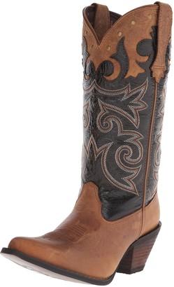 Durango Women's Crush 12 Inch Underlay Black Western Boot
