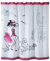 "Avanti Chloe 72"" Square Graphic-Print Shower Curtain"