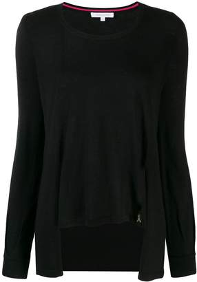 Patrizia Pepe asymmetric knit sweater