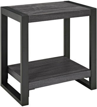 Hewson Angelo:Home 24In Industrial Side Table