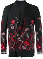 Gucci floral embroidered blazer - men - Cotton/Rayon/Wool - 46