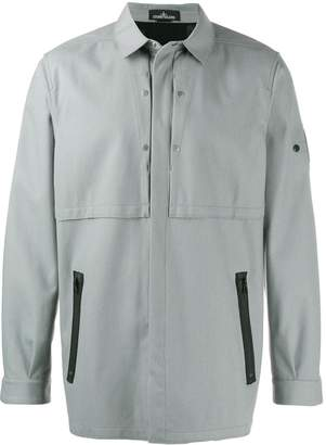 Stone Island lightweight shirt jacket