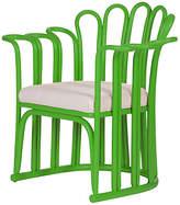 David Francis Furniture Calla Accent Chair - Bright Green