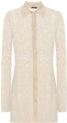 Joseph Beth rib-knit shirt