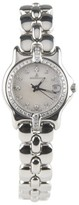 Berto Lucci Bertolucci 083 41A Stainless Steel Quartz Mother Of Pearl and Diamonds Dial Women