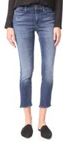 J Brand Sadey Slim Straight Jeans with Shadow Pocket