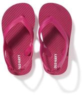 Old Navy Solid Flip-Flops for Toddler Girls