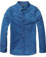 Scotch & Soda Embroidered Shirt
