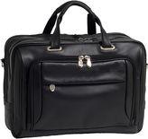 McKlein McKleinUSA West Loop 15.6 Leather Expandable Double Compartment Briefcase