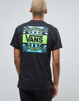 Vans 50th Anniversary T-Shirt With Back Print In Black VA2XD7BLK