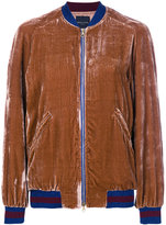 Roberto Collina two tone bomber jacket