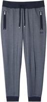 Boss Navy Cotton Blend Jogging Trousers