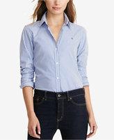 Lauren Ralph Lauren Petite Wrinkle-Resistant Pinstripe Shirt