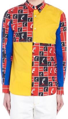 Comme des Garçons Shirt Contrast Patch Shirt