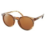 Quay Ti San Round Sunglasses - Brown