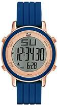 Skechers Women's SR6010 Digital Display Quartz Blue Watch
