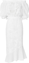 Saloni Grace Anglaise Cotton Dress