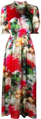 ADAM by Adam Lippes all-over print dress