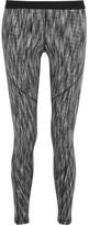 Nike Hyperwarm Stretch-knit Leggings - Light gray