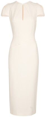 Roland Mouret Eppleton stretch-crApe midi dress