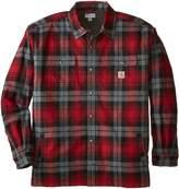 Carhartt Men's Big and Tall Hubbard Sherpa Lined Shirt Jacket