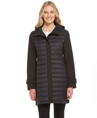 Gallery Quilted Soft Shell Coat
