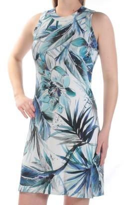 Karen Kane Women's Tropical Halter Dress