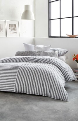 DKNY Clipped Square Cotton Comforter & Sham Set
